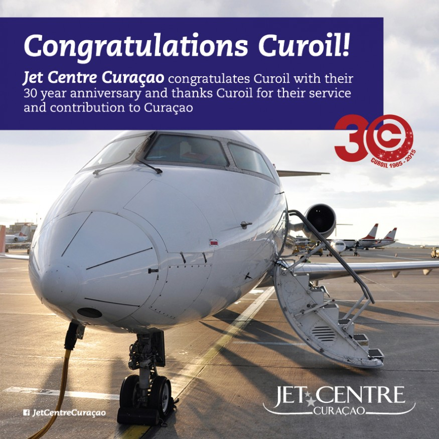 Jet Centre celebrates with CUROIL
